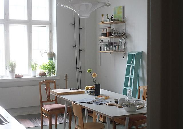 keittiossa