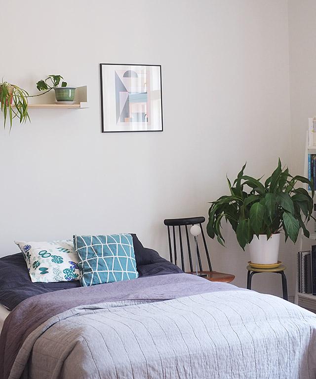vihrea-makuuhuone