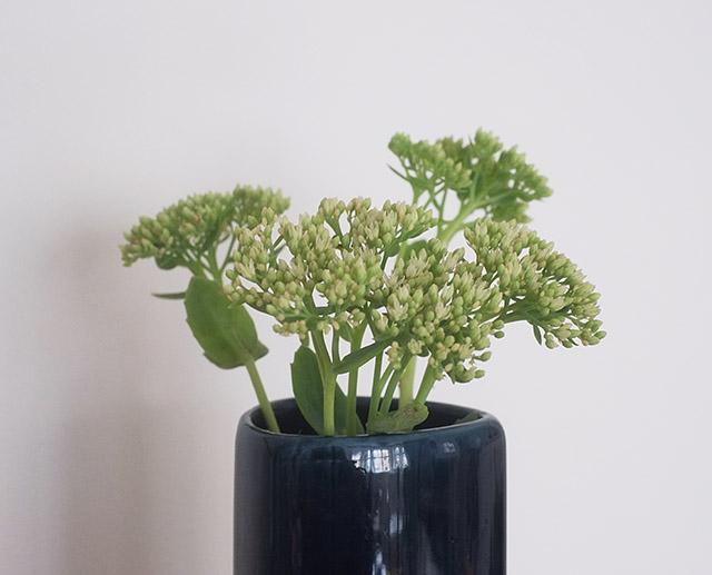 green-flowers