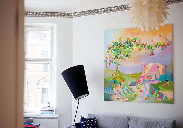 olohuoneen-maalaus